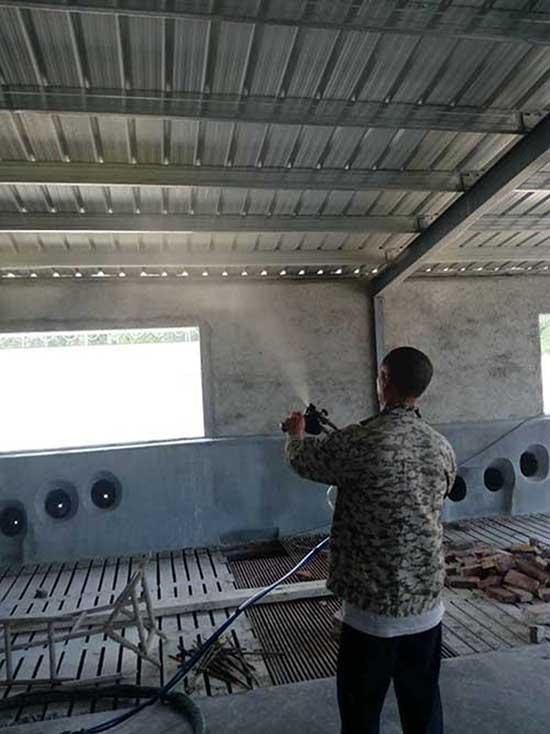 养殖场彩钢瓦顶棚喷火狐体育下载